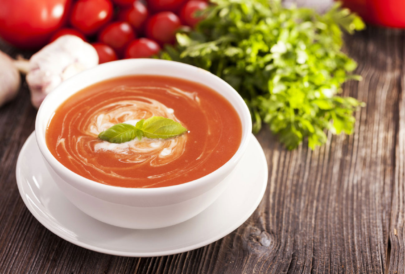 Maca Tomaten Suppe